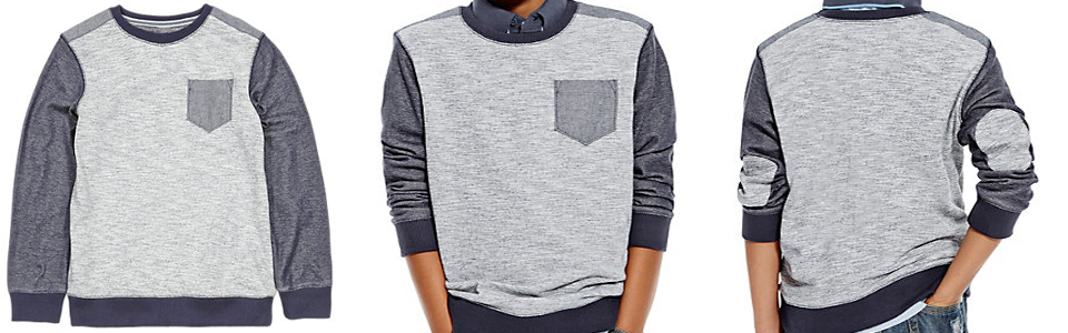 Pure-Cotton-Textured-Crew-Neck-Sweatshirt-5-14-Years-4